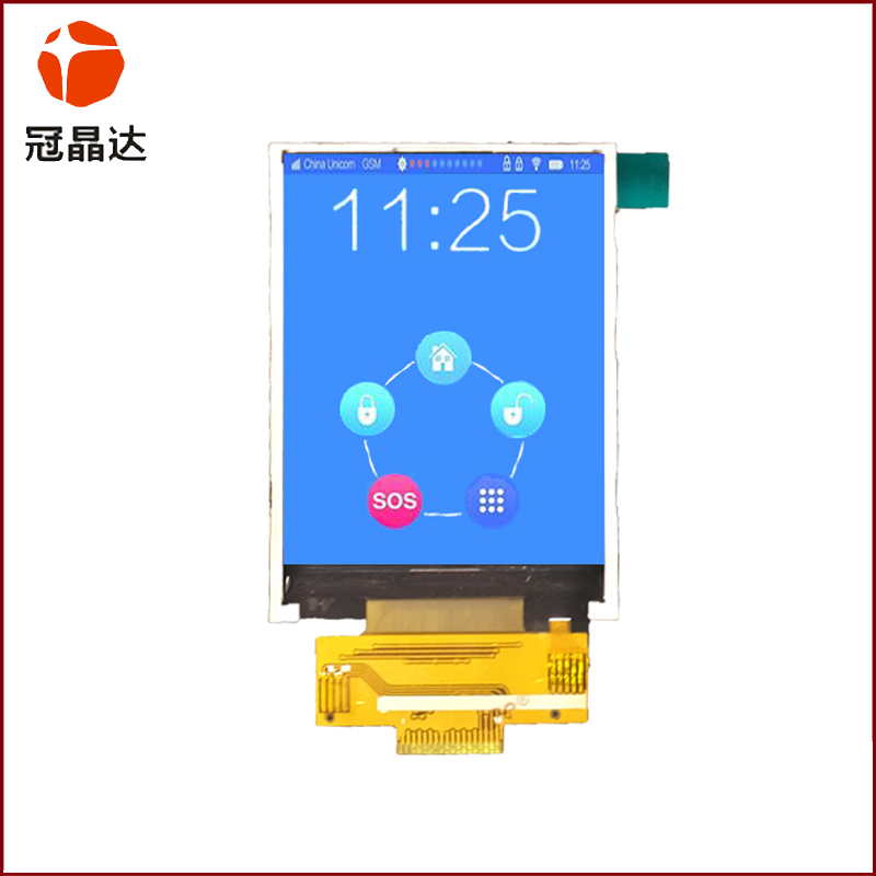 2.8-inch TFT color screen