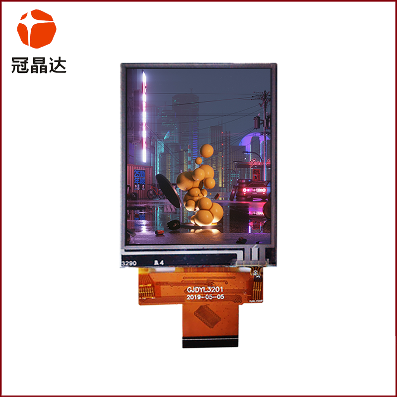 3.2-inch TFT color screen 320240