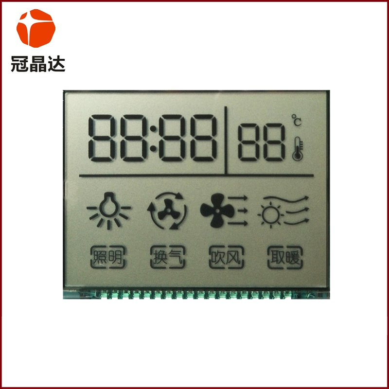 Thermostat intelligent control of the beginning of the LCD screen