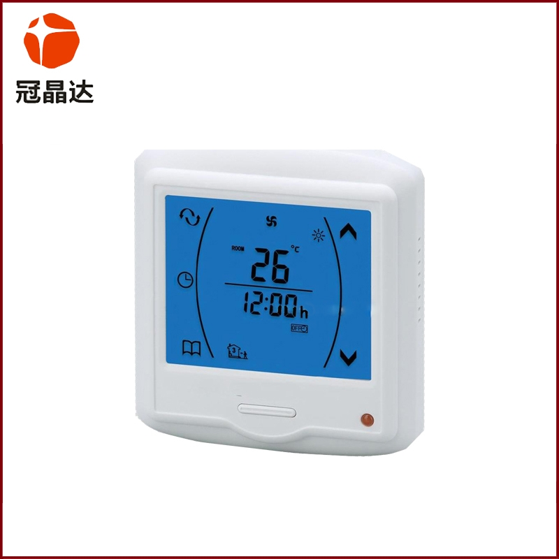 Temperature controller segment code screen